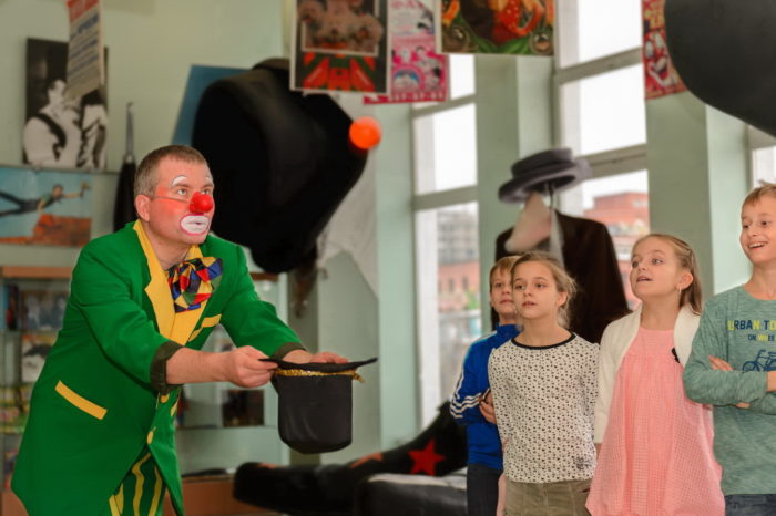 Квест «Чемодан грустного клоуна» для школьников