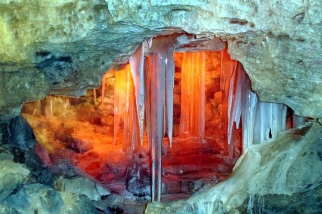 Кунгурская Ледяная пещера для школьников