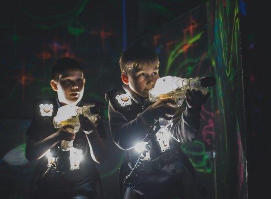 Лазертаг в Екатеринбурге для школьников