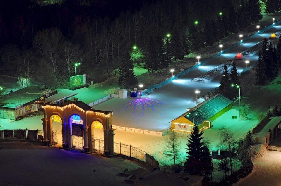 Ледовые катки в Екатеринбурге