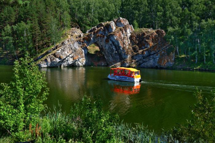 Исетский каньон и Колокольный завод в Каменск-Уральском с прогулкой на кораблике